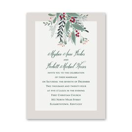 Sweet Mistletoe - Petite Invitation