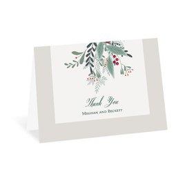 Thank You Cards: Sweet Mistletoe Thank You Card