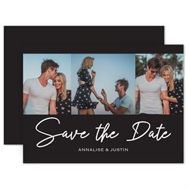 Save The Dates: Stunning Moment Save the Date Card