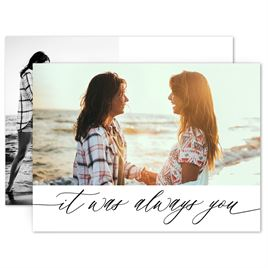 Save The Dates: Always You Save the Date Card