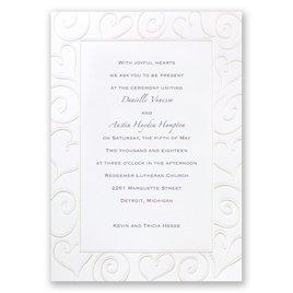 Wedding Invitations: Pure Romance Invitation