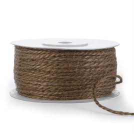 Invitation Ribbons and Embellishments: Jute Cord Chocolate 50yd spool