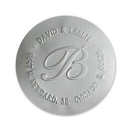 Round Foil Seal - Silver