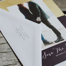 Save the Date Custom Embosser