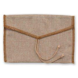 Burlap Pocket - Invitation