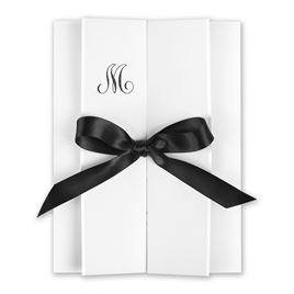 Monogram Wedding Invitations: Love Revealed Invitation