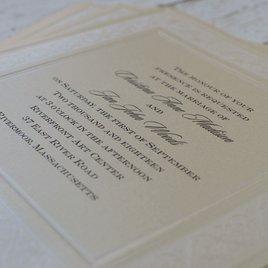 Framed in Luxury - Invitation
