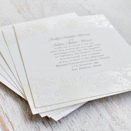 Pearl Flourish - Invitation