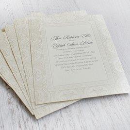 Ornate Beauty - Invitation