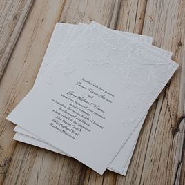 Shaded Grey - Invitation