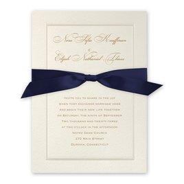 Wedding Invitations: Pearl Frame Invitation