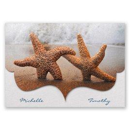 Wedding Invitations: Smitten Starfish Invitation