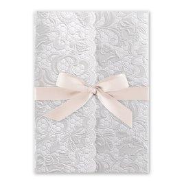 Pearl Vines - Blush - Invitation