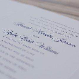 Pearl Vines - Greige - Invitation