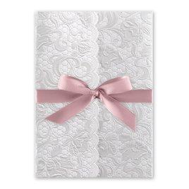 Pearl Vines - Rose - Invitation