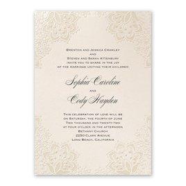 Mandala Lace - Invitation