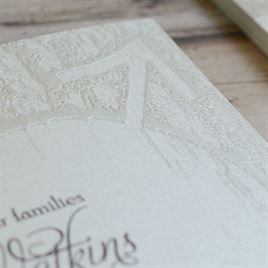 Carved Elegance - Invitation