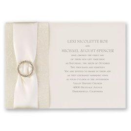 Shimmering Sash - Invitation