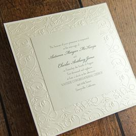 Vintage Filigree - Invitation