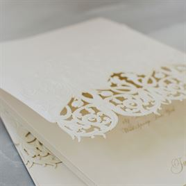 Luminous Filigree - Laser Cut Invitation