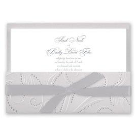 Silver Pearls - Invitation