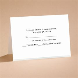 Wedding Response Cards: Love Revealed Respond Card and Envelope