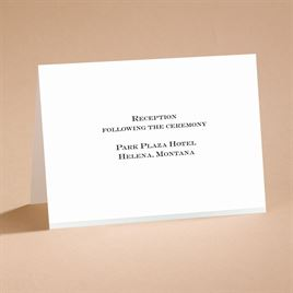 Wedding Reception and Information Cards: Love Revealed Reception Card