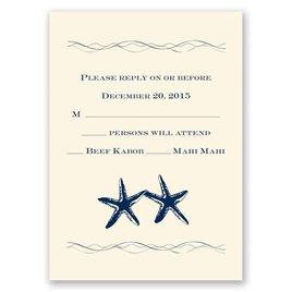 Beach: Sweet Starfish - Response Card