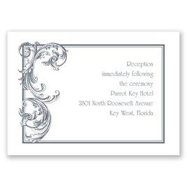 Fine Filigree - Reception Card