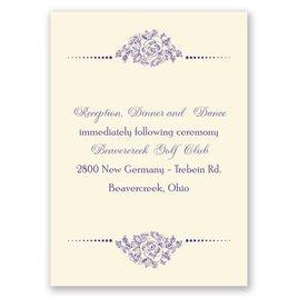 Fairy Tale Love - Ecru - Reception Card
