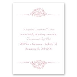 Fairy Tale Love - Reception Card