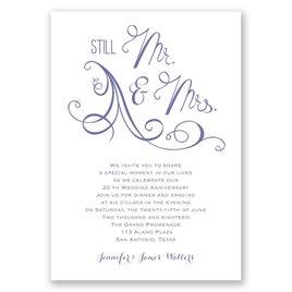 Still Mr. and Mrs. - Anniversary Invitation