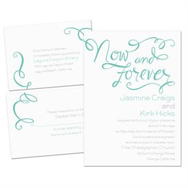 Now and Forever - 3 for 1 Invitation