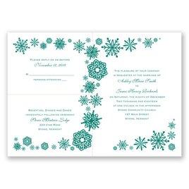 Winter Breeze - 3 for 1 Invitation
