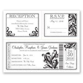 Destination Love - 3 for 1 Invitation