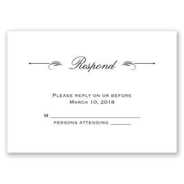 Love & Friendship - Response Card