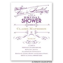 Elegant Intro - Bridal Shower Invitation