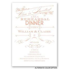 Elegant Intro - Rehearsal Dinner Invitation