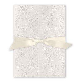 Elegance and Grace - Ecru - Invitation
