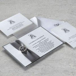 Sheer Sophistication - Horizontal - Invitation