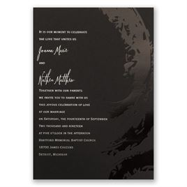 Bold & Refined - Foil Invitation
