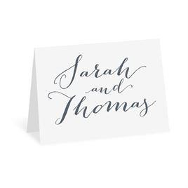 Modern Thank You Cards: Letter Love Thank You Card