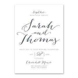 The Signature Collection: Letter Love Invitation