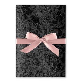 Ebony Vines - Ballet - Foil Invitation