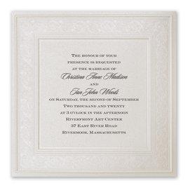 Wedding Invitations: Elegant Display Invitation