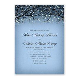 Fairytale Sky - Foil Invitation