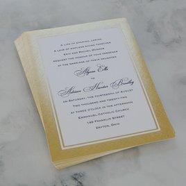 Golden Grandeur - Invitation