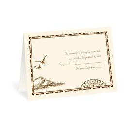 Wedding Response Cards: Treasure Map Respond Card and Envelope