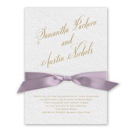 Fresh Angle - Hydrangea - White Invitation