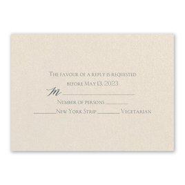 Wedding Response Cards: Blossoming - Response Card